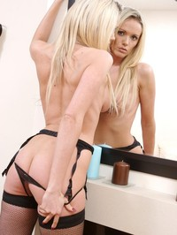 Lucy Zara In Black Stockings 01