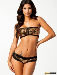 Glamorous Sexy Johanna Lundback In Lingerie 03