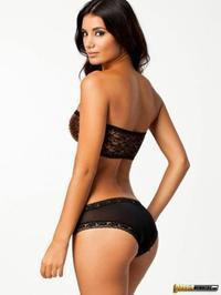 Glamorous Sexy Johanna Lundback In Lingerie 04