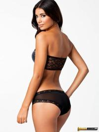 Glamorous Sexy Johanna Lundback In Lingerie 06