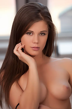 Beautiful Brunette Girl Caprice